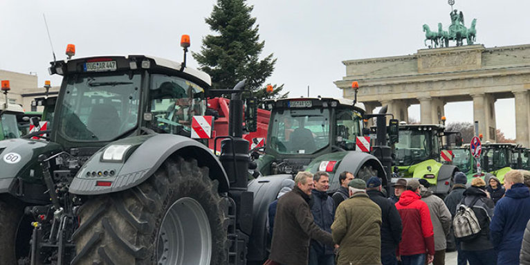 Traktor-Demo in Berlin 2019 - Foto: NABU