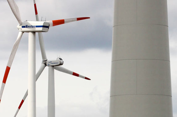 Windräder - Foto: Helge May